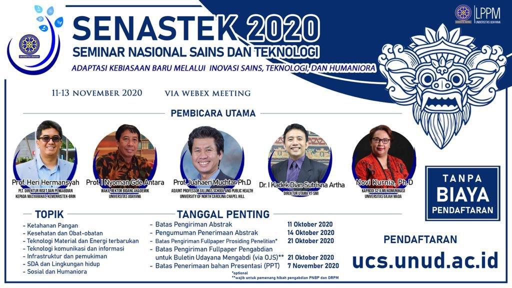 Nasional Conference On Science Technology and Humanities 2020